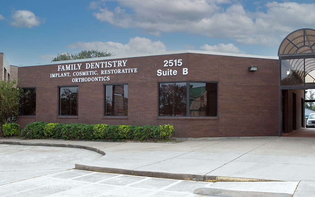 Outside view of Texas City dental office building